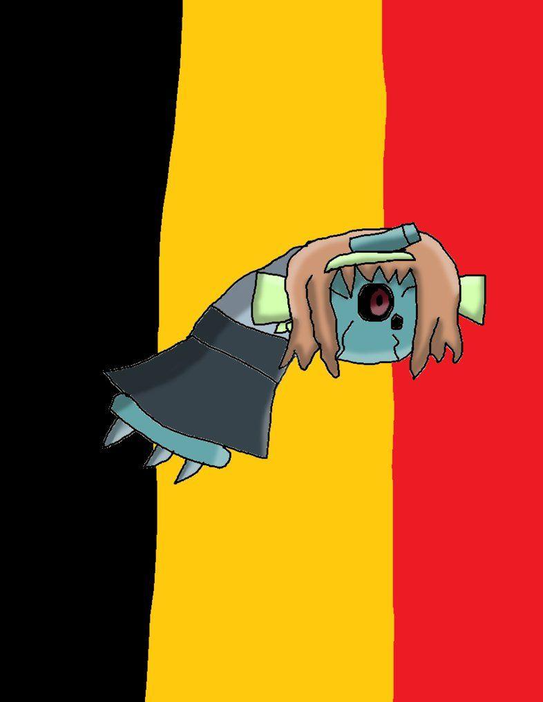 Belgium the Beldum by GrayComputer on DeviantArt
