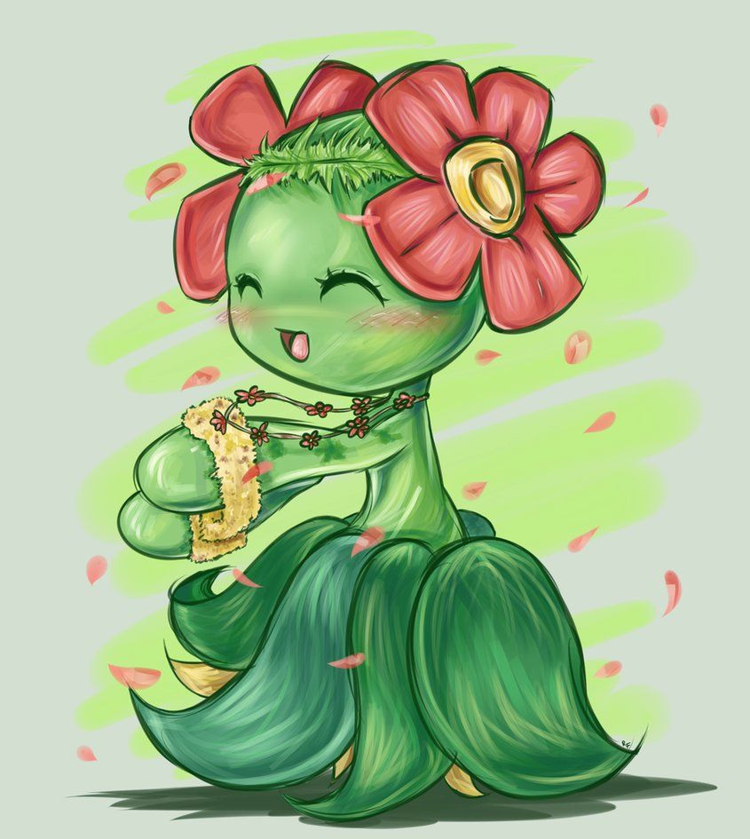 Bellossom by RequestFag on DeviantArt