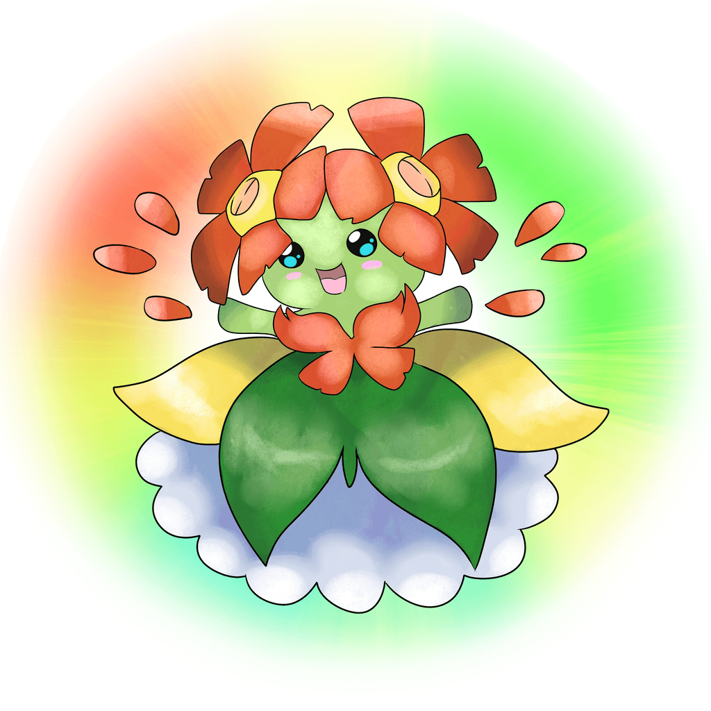 182 Mega Bellossom by Shadesofcool on DeviantArt