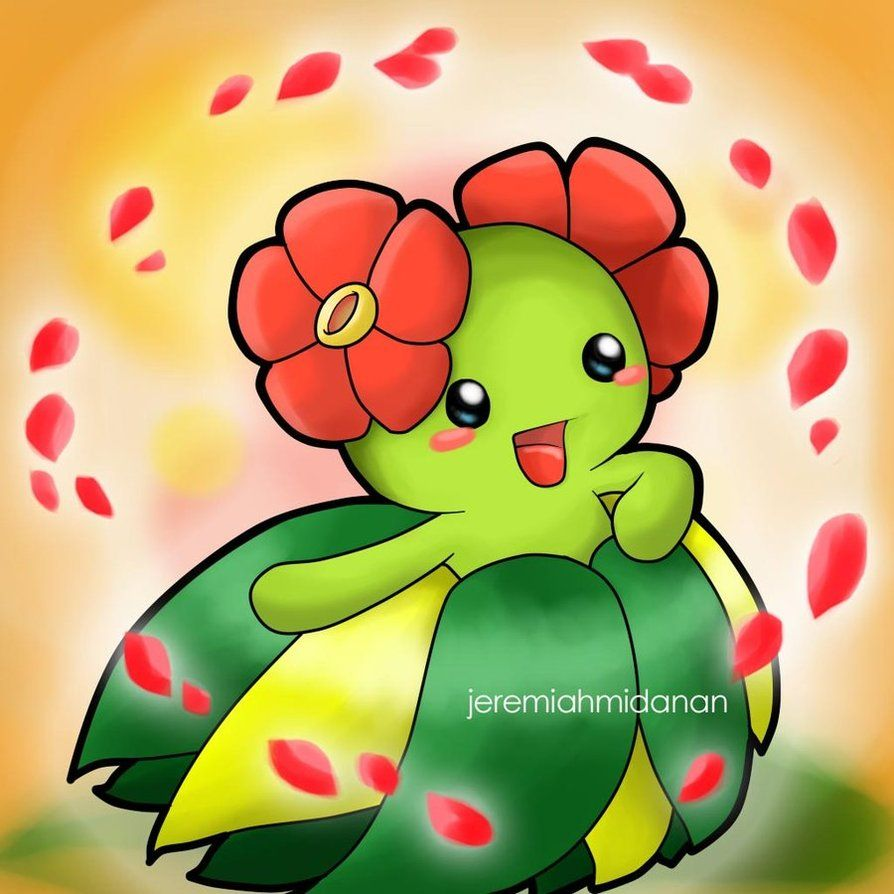 Pokemon : Bellossom by MayaIdanan on DeviantArt