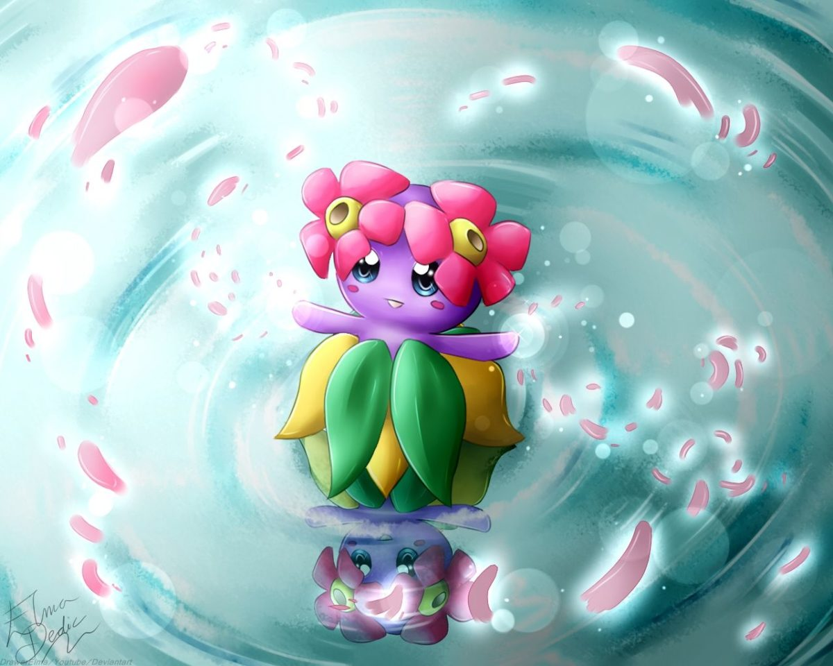 Shiny Bellossom DeviantART by DrawerElma. | Pokémon | Pinterest …