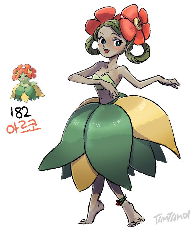 182.Bellossom by tamtamdi on DeviantArt