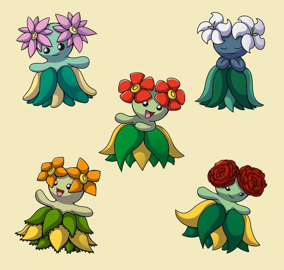 PokemonSubspecies: Bellossom by CoolPikachu29 on DeviantArt