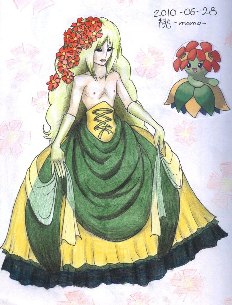 Male BELLOSSOM by BlackSkull666 on DeviantArt