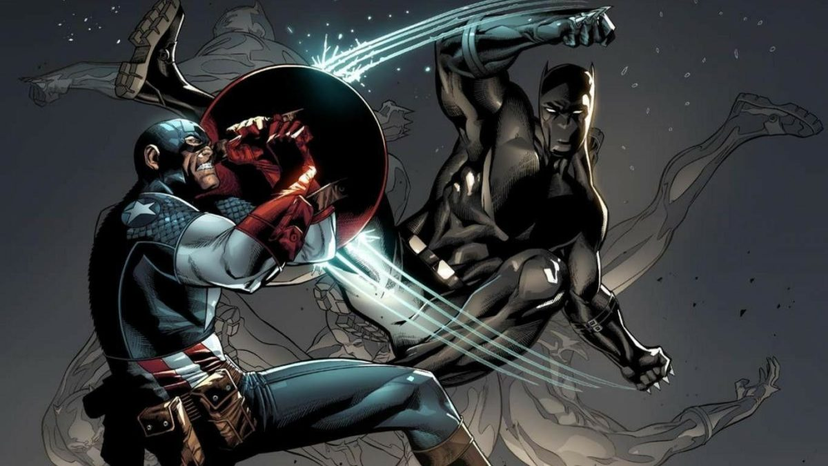 Ironman Captain America Civil War Black Panther Wallpapers