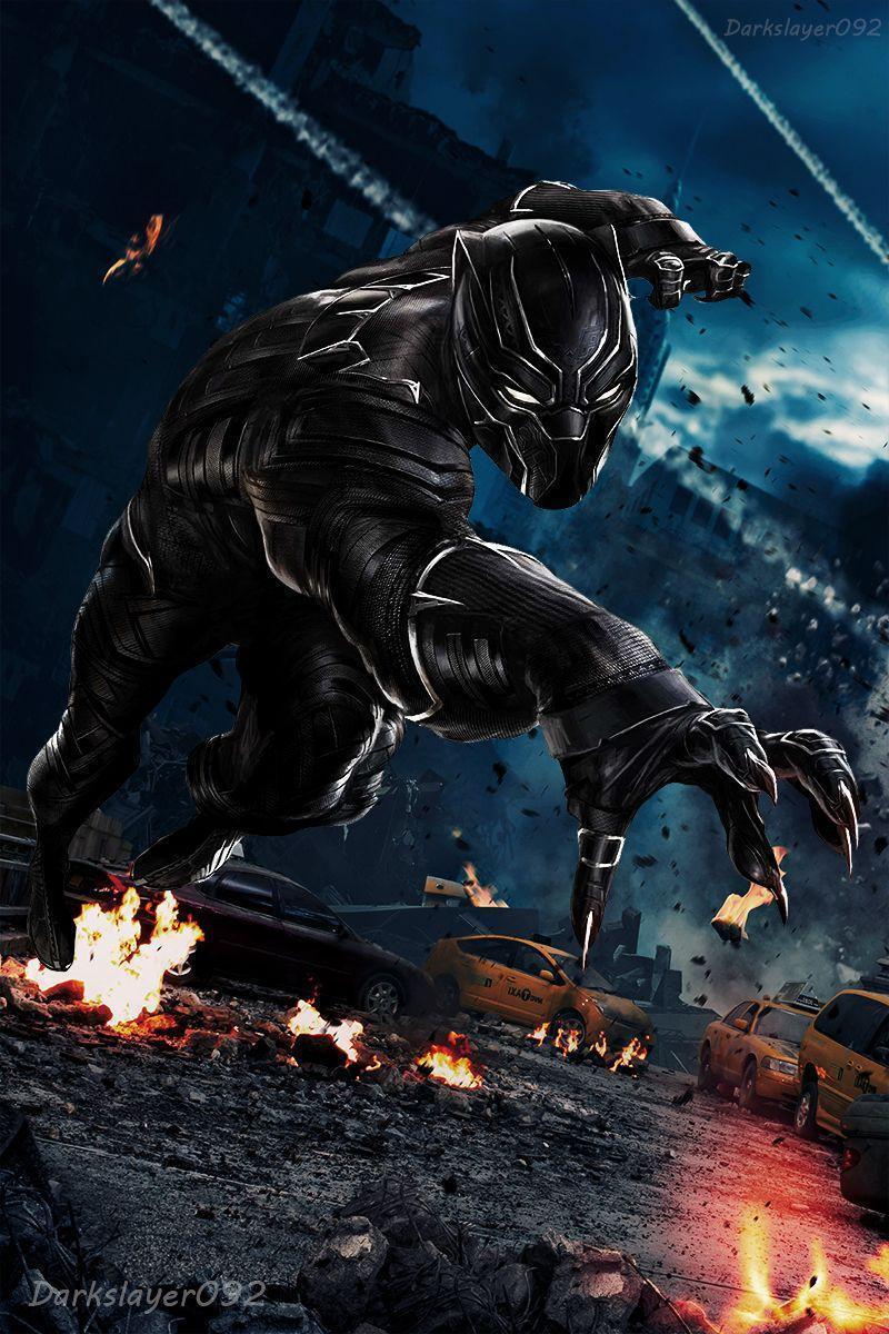 Black Panther – Civil War by Darkslayer092 on DeviantArt