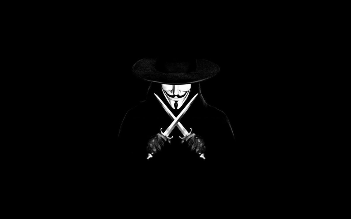 Wallpapers For > Anonymous Wallpaper 1080p