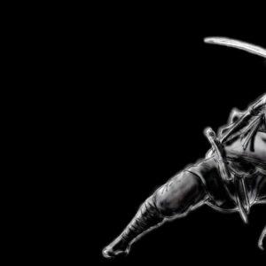 download Art: Ninja Dark Wallpaper, dark wallpaper background, dark …