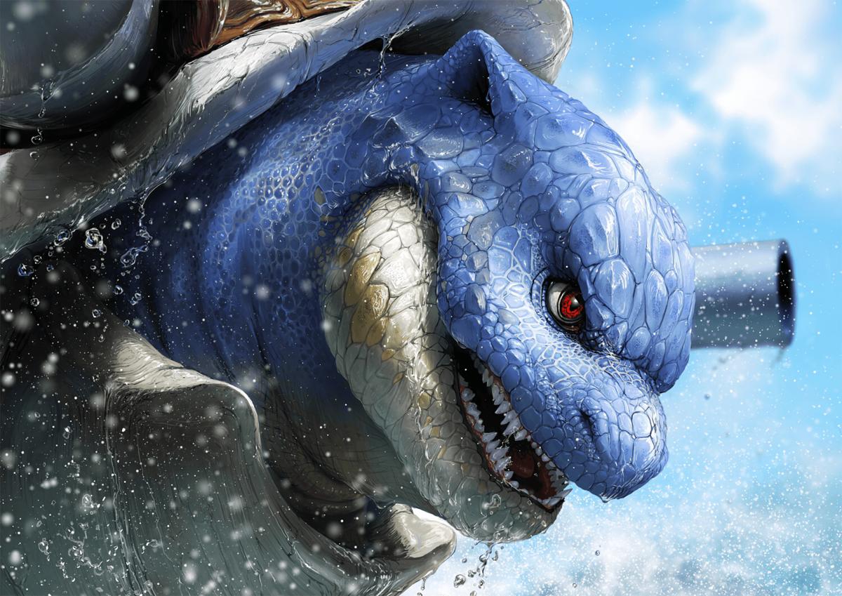 55 Blastoise (Pokémon) HD Wallpapers | Background Images …