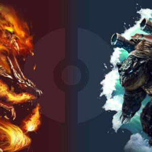 download Pokemon Charizard vs Blastoise HD Wallpapers (74+ images)