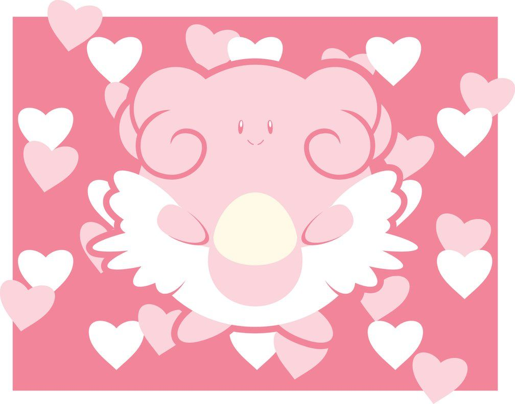 Blissey's Attract by icycatelf on DeviantArt