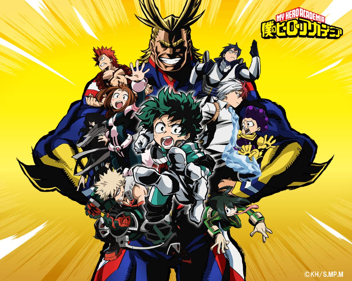 My Hero Academia (Anime) | Boku no Hero Academia Wiki | Fandom …