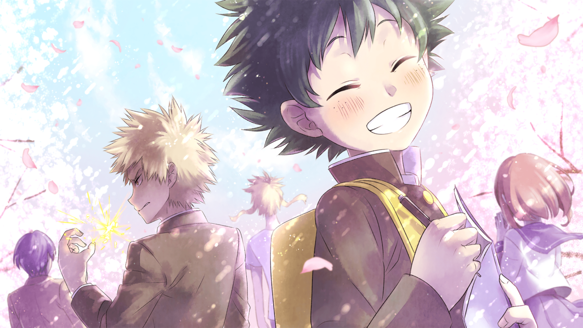 52 My Hero Academia HD Wallpapers | Backgrounds – Wallpaper Abyss
