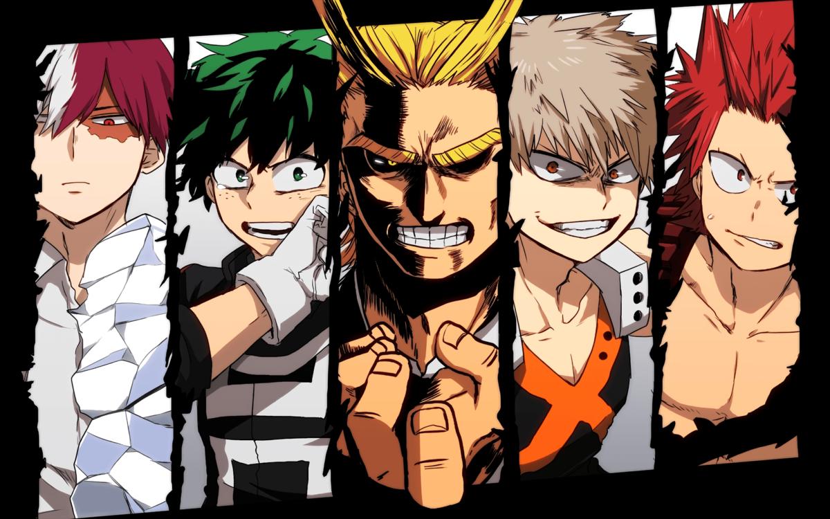 Anime Boku No Hero Academia Izuku Midoriya All Might Katsuki …