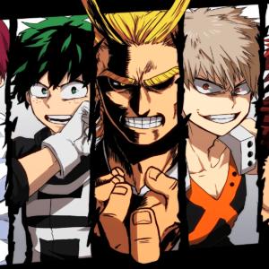 download Anime Boku No Hero Academia Izuku Midoriya All Might Katsuki …