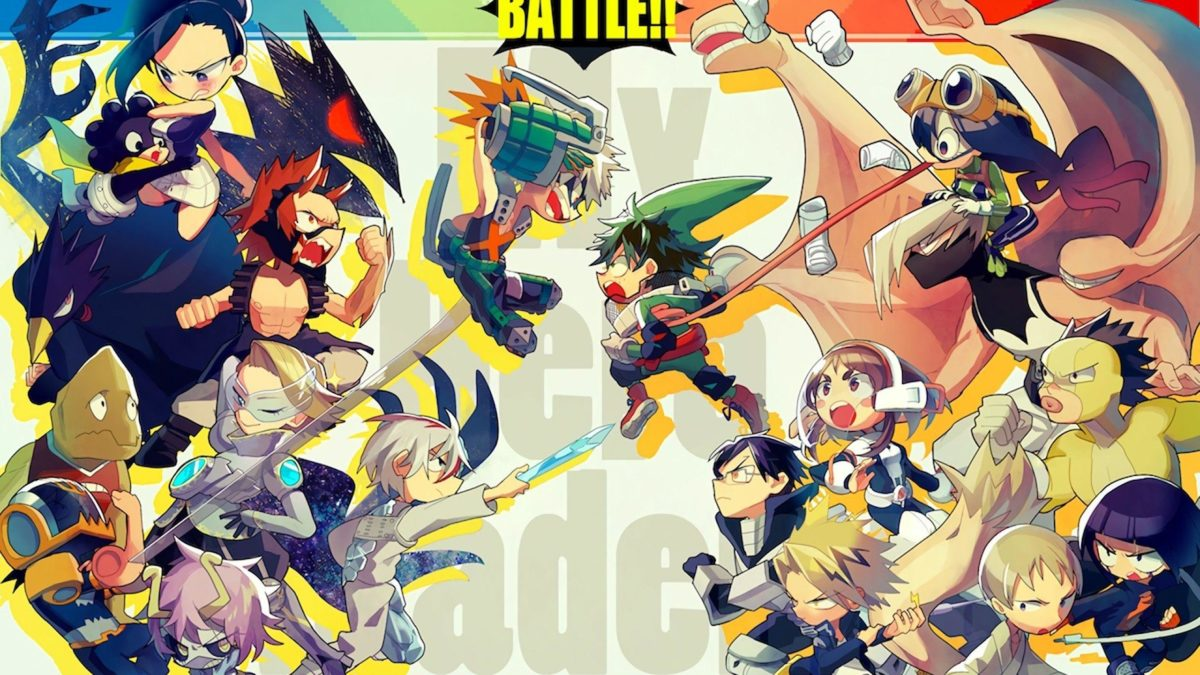 Battle Boku no Hero Academia Anime Wallpaper HD Wallpaper HD …