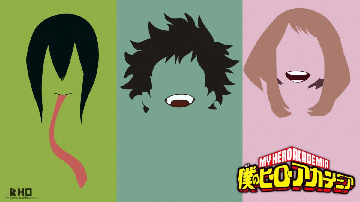 Boku no hero academia minimal wallpaper by freakRHO on DeviantArt
