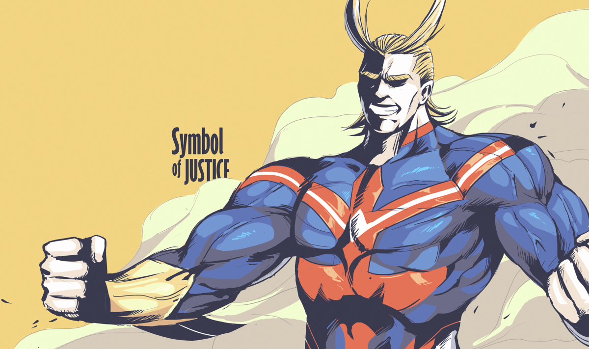 Anime Boku No Hero Academia All Might Wallpaper | Boku no Hero …