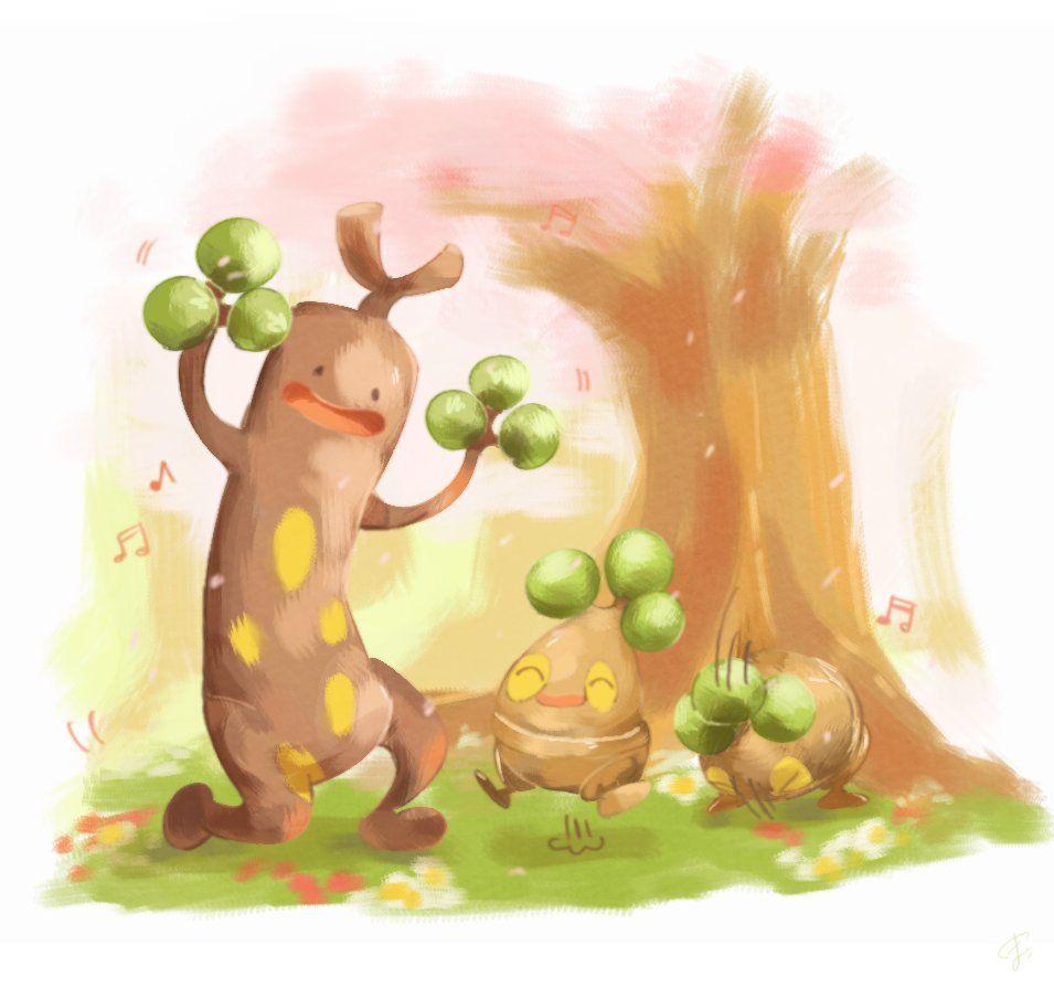 Sudowoodo and Bonsly | Pokémon | Pinterest | Pokémon