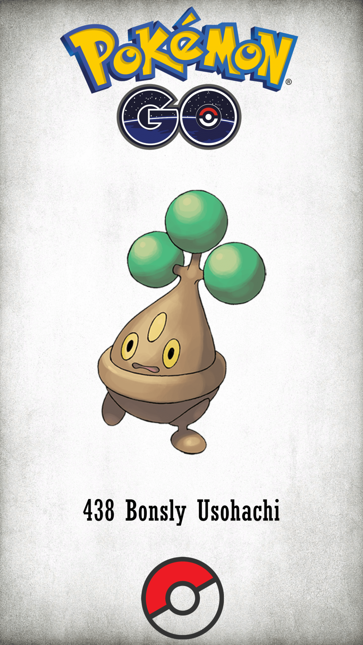 438 Character Bonsly Usohachi | Wallpaper