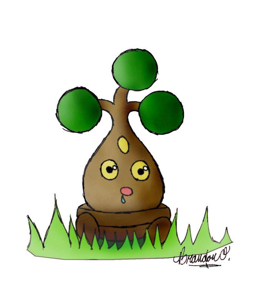 Pokemon- Bonsly by Brandnman on DeviantArt