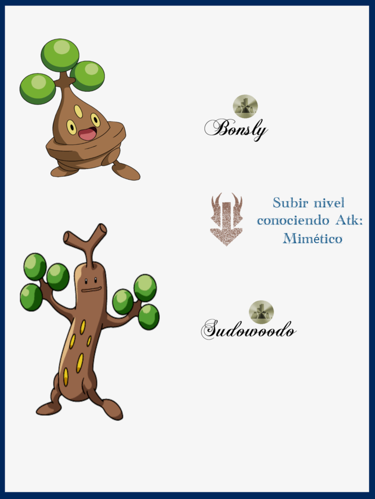 086 Bonsly Evoluciones by Maxconnery on DeviantArt