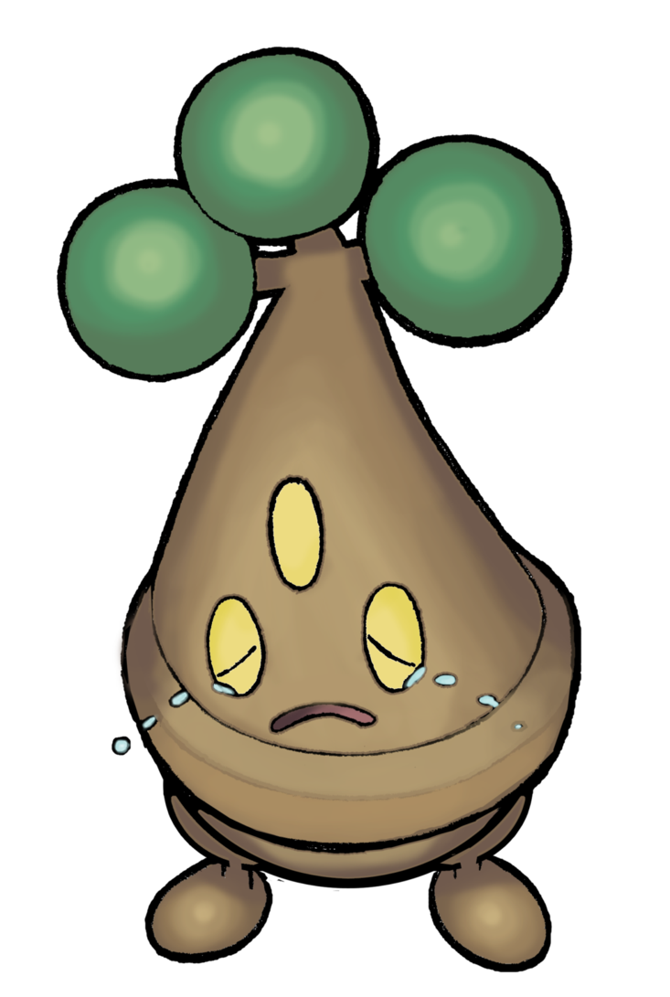 438 Bonsly (color) by realarpmbq on DeviantArt