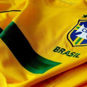 download Brazil Soccer Shirt And Logo Wallpapers HD