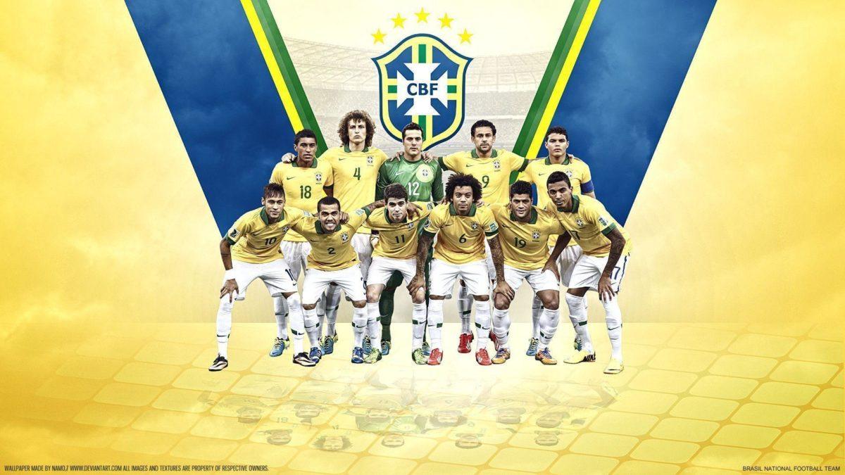 Brazil Team Soccer 2014 Wallpaper 20 | hdwallpapers-