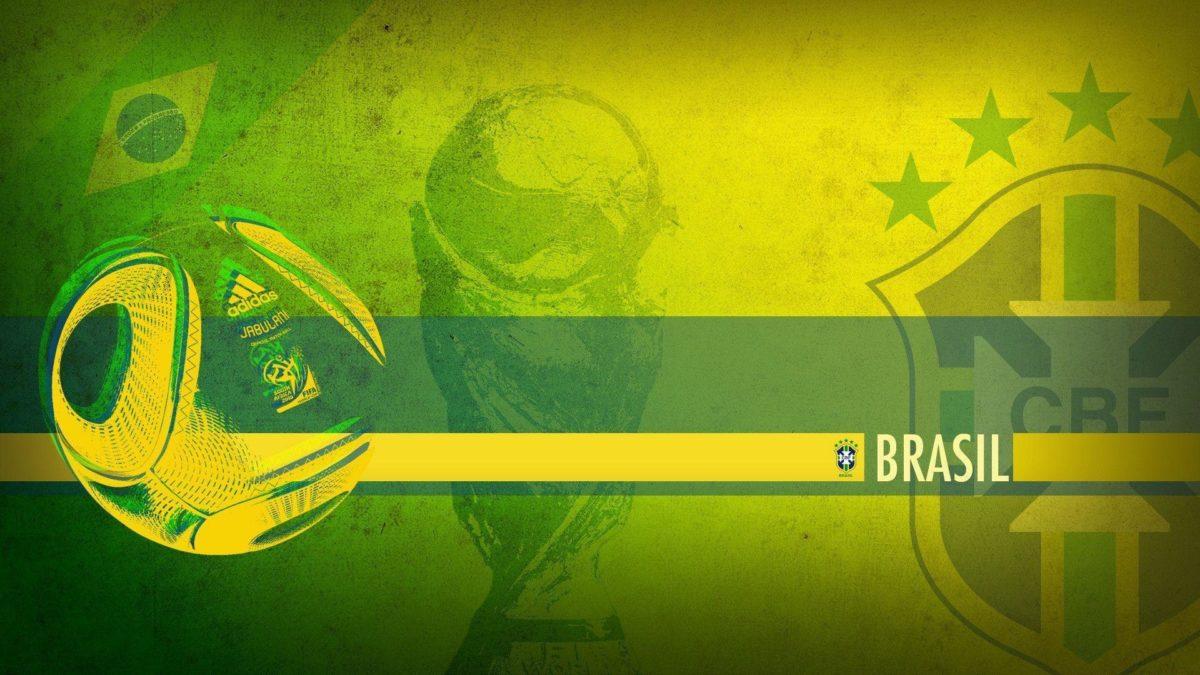 Brazil Soccer Logo Wallpaper – Viewing Gallery