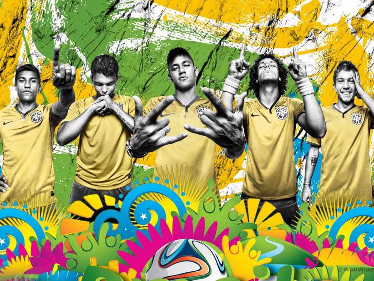 2014 World Cup Brazil Soccer Team Retina Wallpaper Wide or HD …