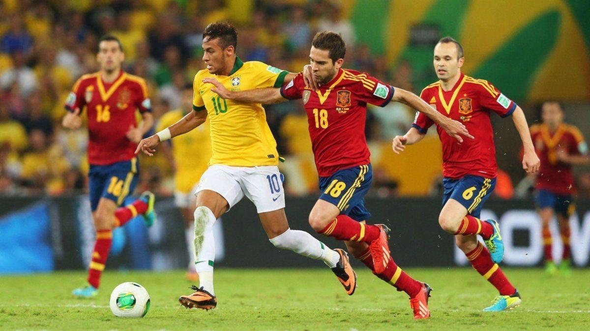 Football sport neymar spain brazil soccer hd wallpaper | 1600×900 …