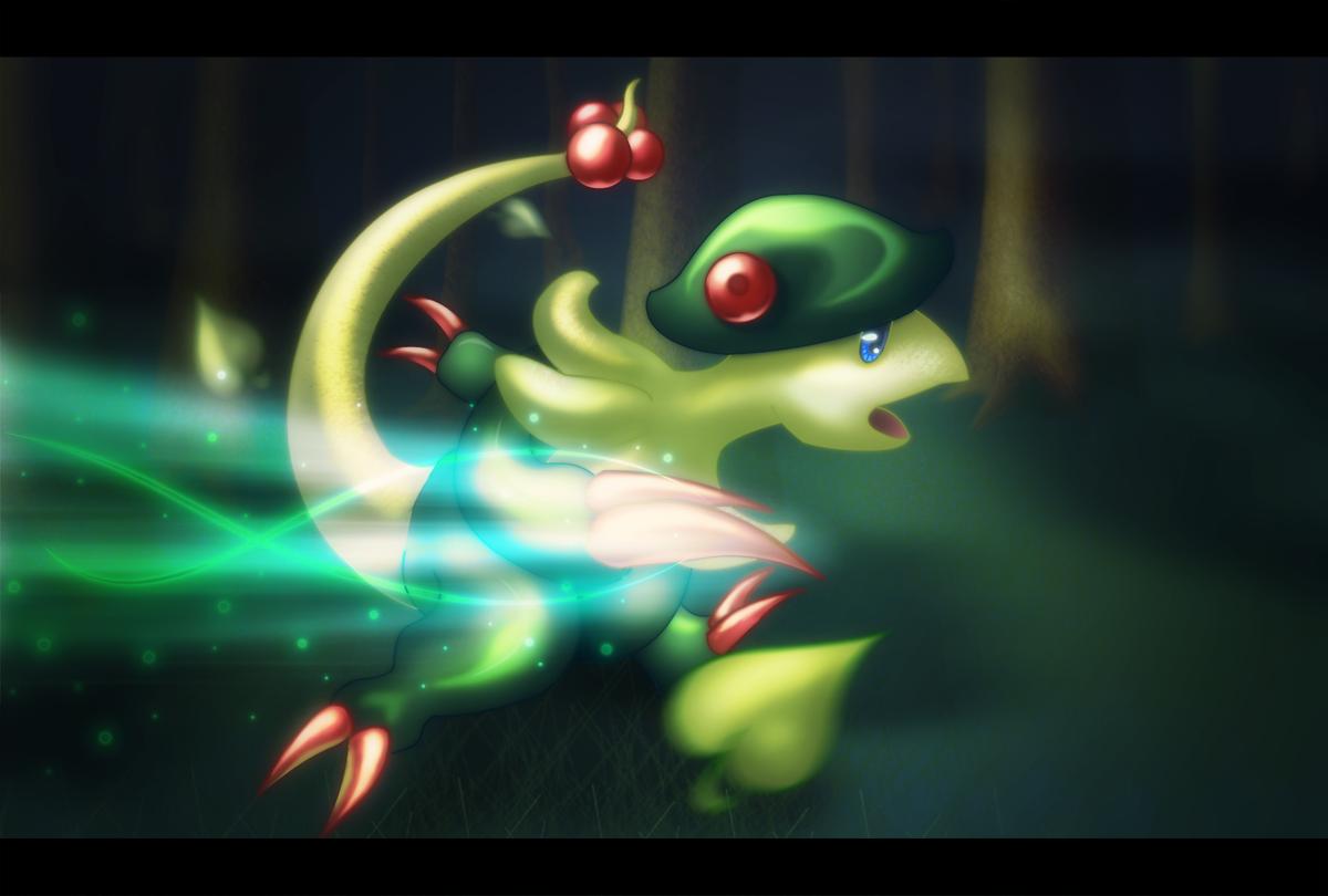 Pokemon : Breloom by LaLunatique on DeviantArt