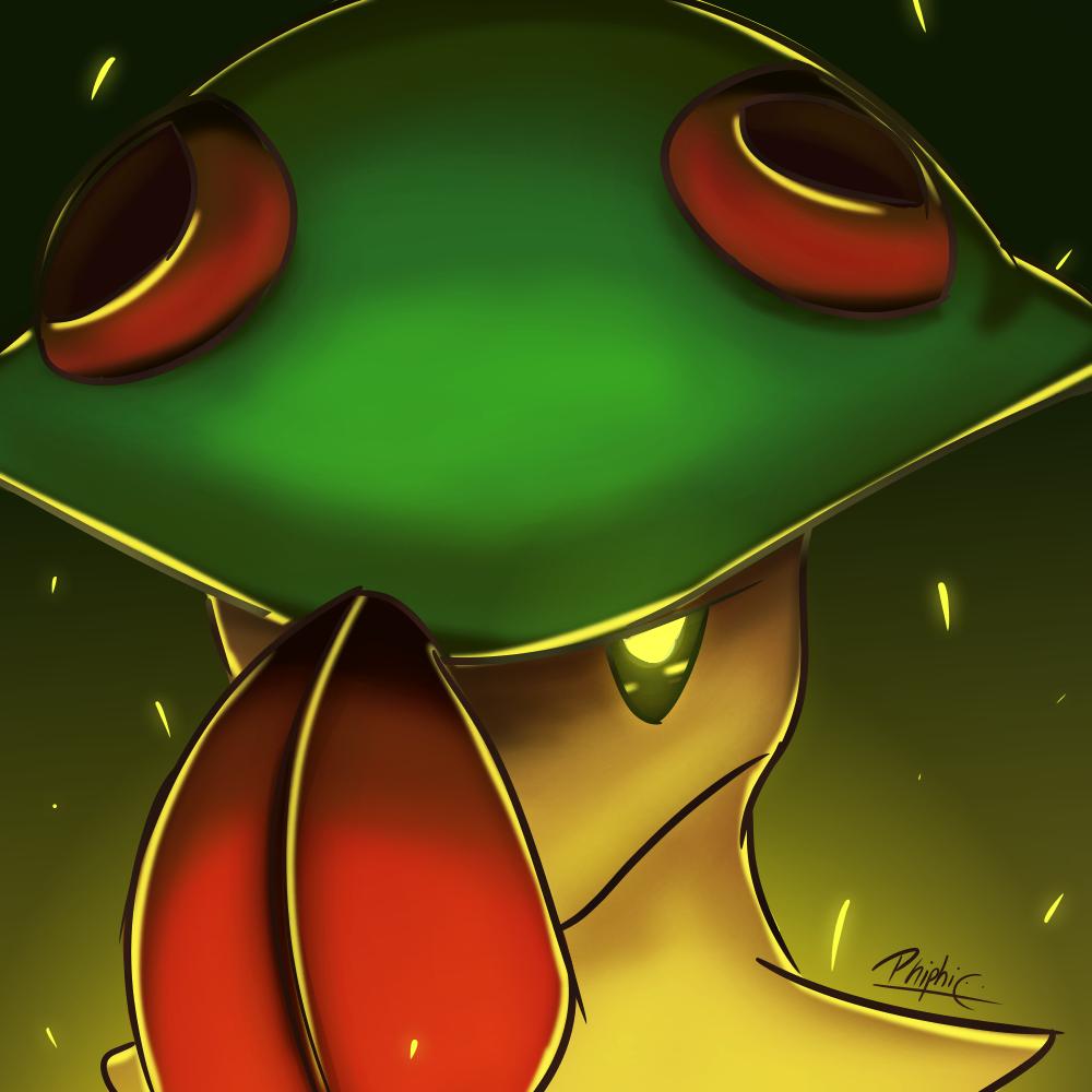 Breloom / Chapignon (Pokemon) | Dingo Games | Pinterest | Pokémon