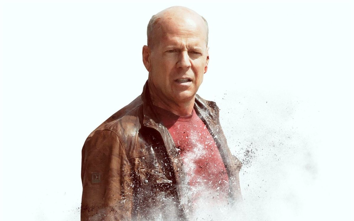 Famous movie actor Bruce Willis on white background wallpapers and …