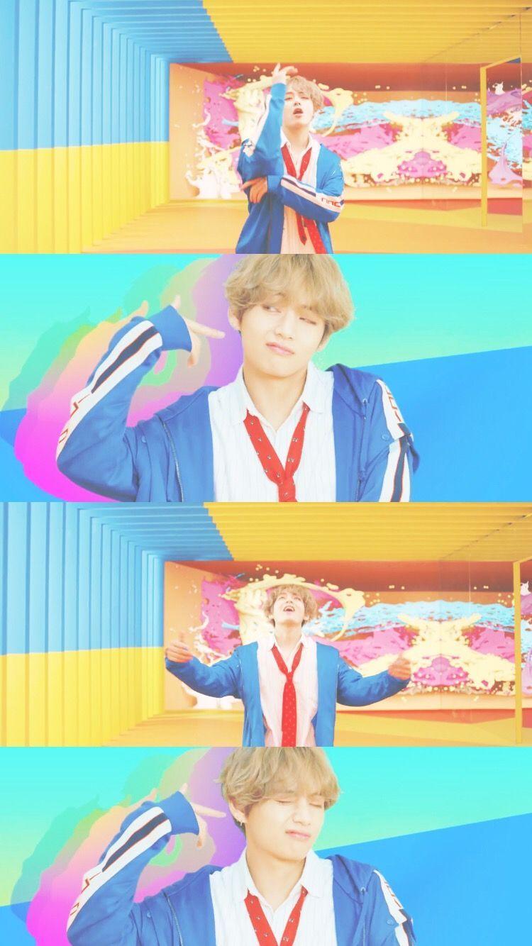 kimtaehyung taehyung v bts dna kpop wallpaper lockscree…