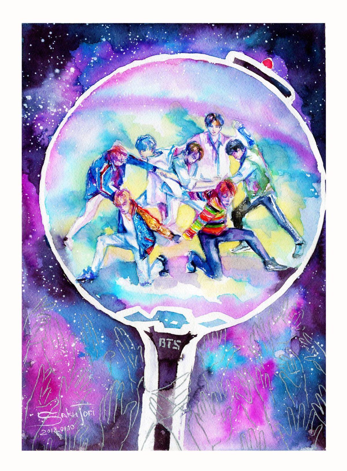 A.R.M.Y 's galaxy BTS DNA by SakuTori on DeviantArt
