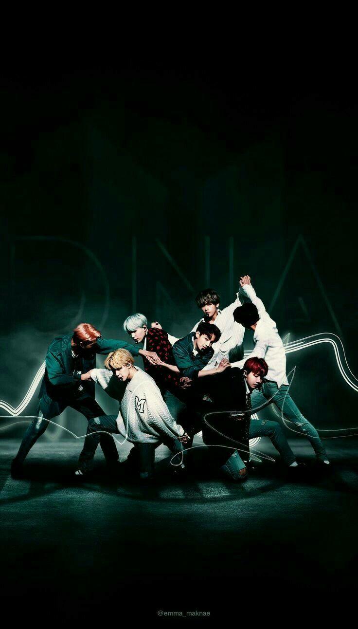 BTS DNA Wallpaper | BTS | Pinterest | BTS, Bts wallpaper and Kpop