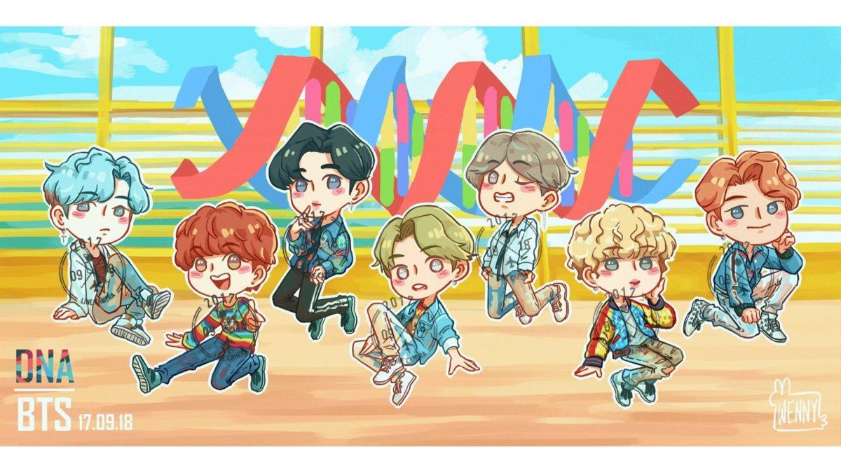BTS: DNA Sticker Pack • Buncha Buns • Tictail