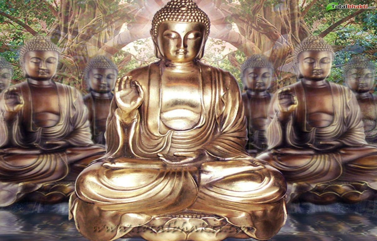 God Backgrounds: Lord Buddha Wallpapers