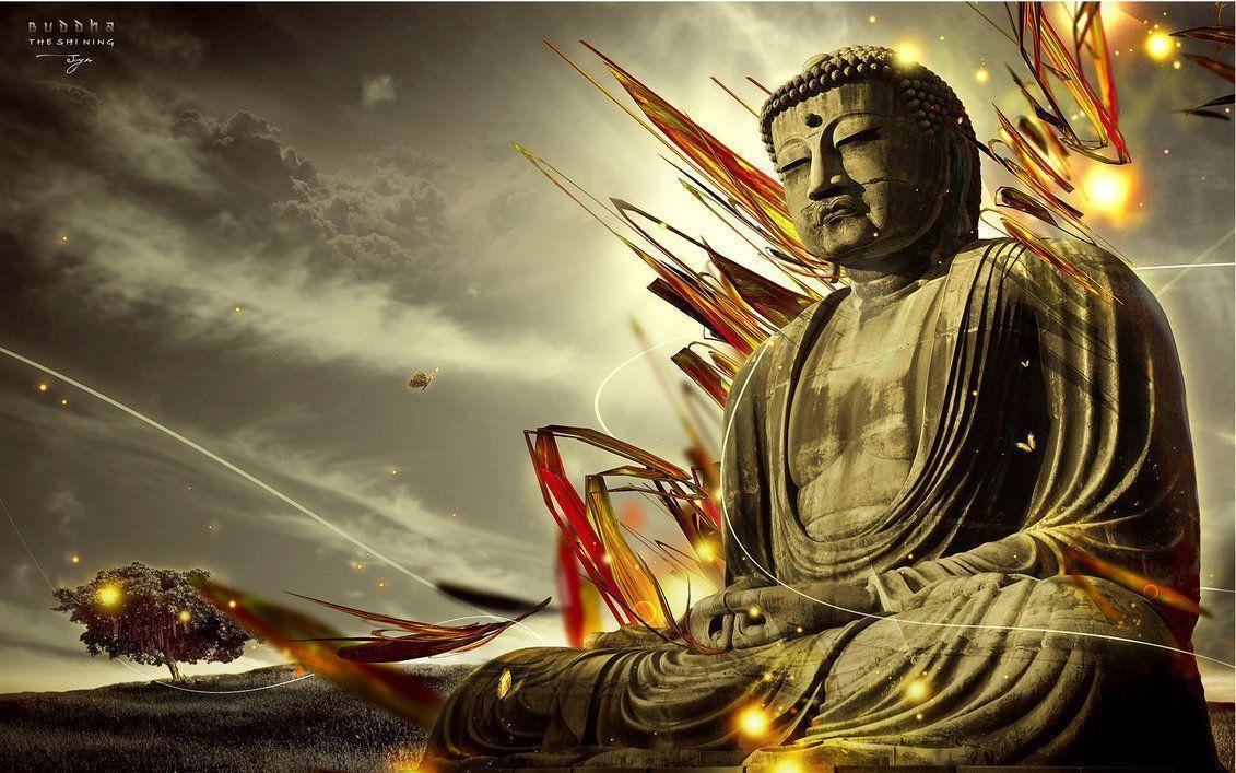 3D Lord Buddha HD Wallpaper , Free Widescreen HD wallpaper