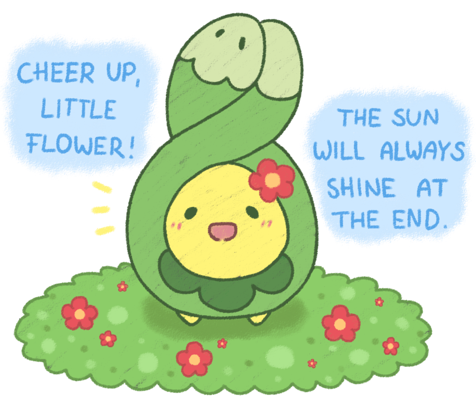 A little positive Budew by Hime–Nyan on DeviantArt