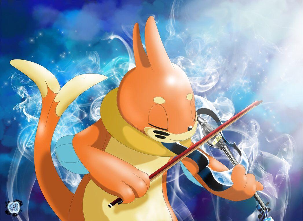 Buizel playing the violin | Pokemon | Pinterest | Pokémon and …