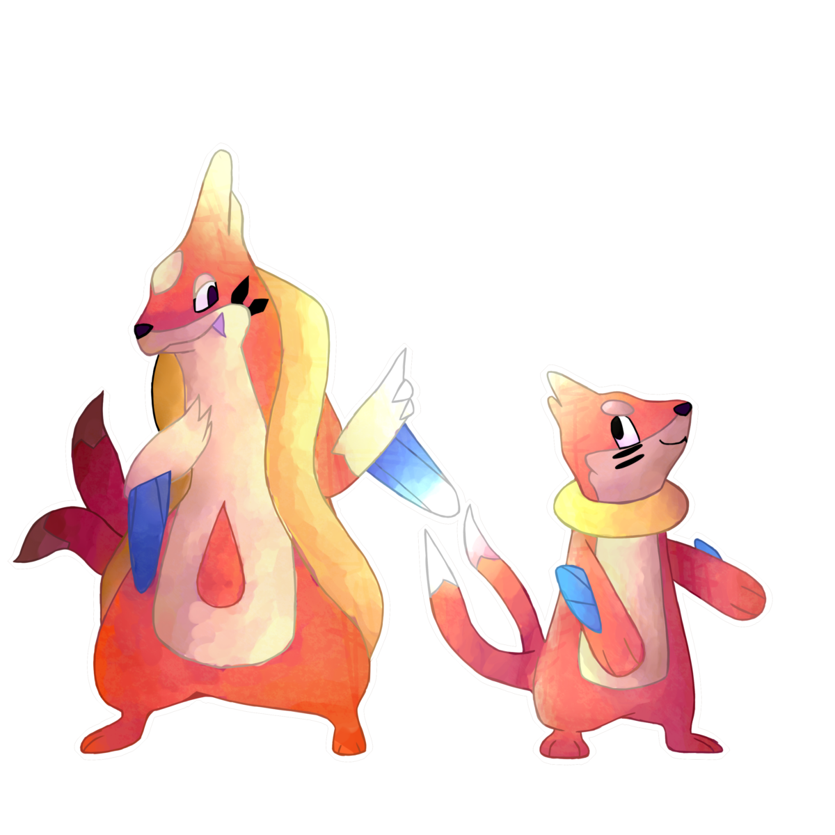 I drew Floatzel and Buizel | Pokemon | Pinterest | Pokémon, Pokemon …
