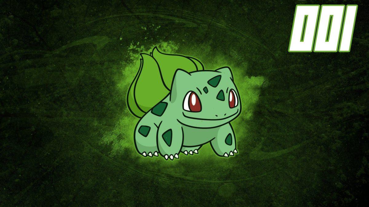 Pokemon Speedart #001 – Bulbasaur Wallpaper – YouTube