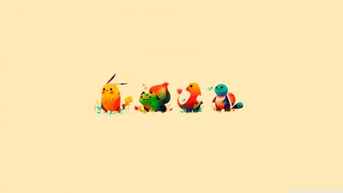 Pokemon Bulbasaur, Pikachu, Charmander, Squirtle ❤ 4K HD Desktop …