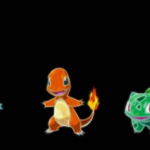 download Cartoon Bulbasaur Squirtle Charmander HD Wallpapers