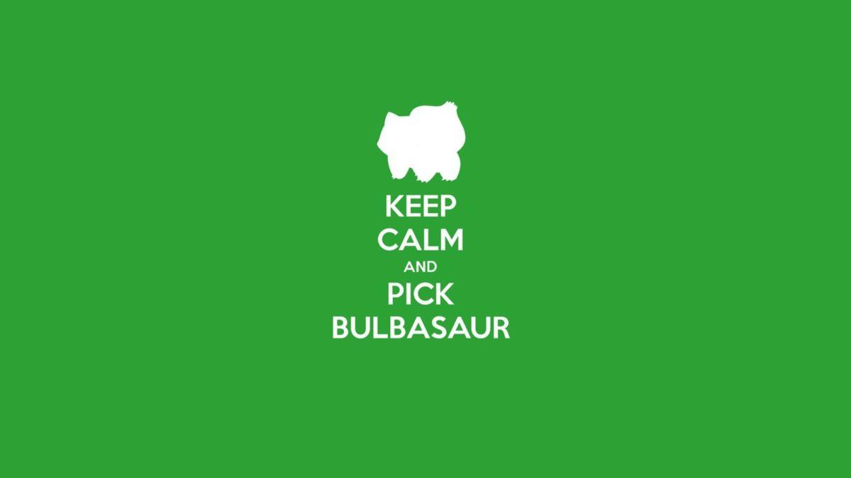 Pokemon video games bulbasaur keep calm and wallpaper …