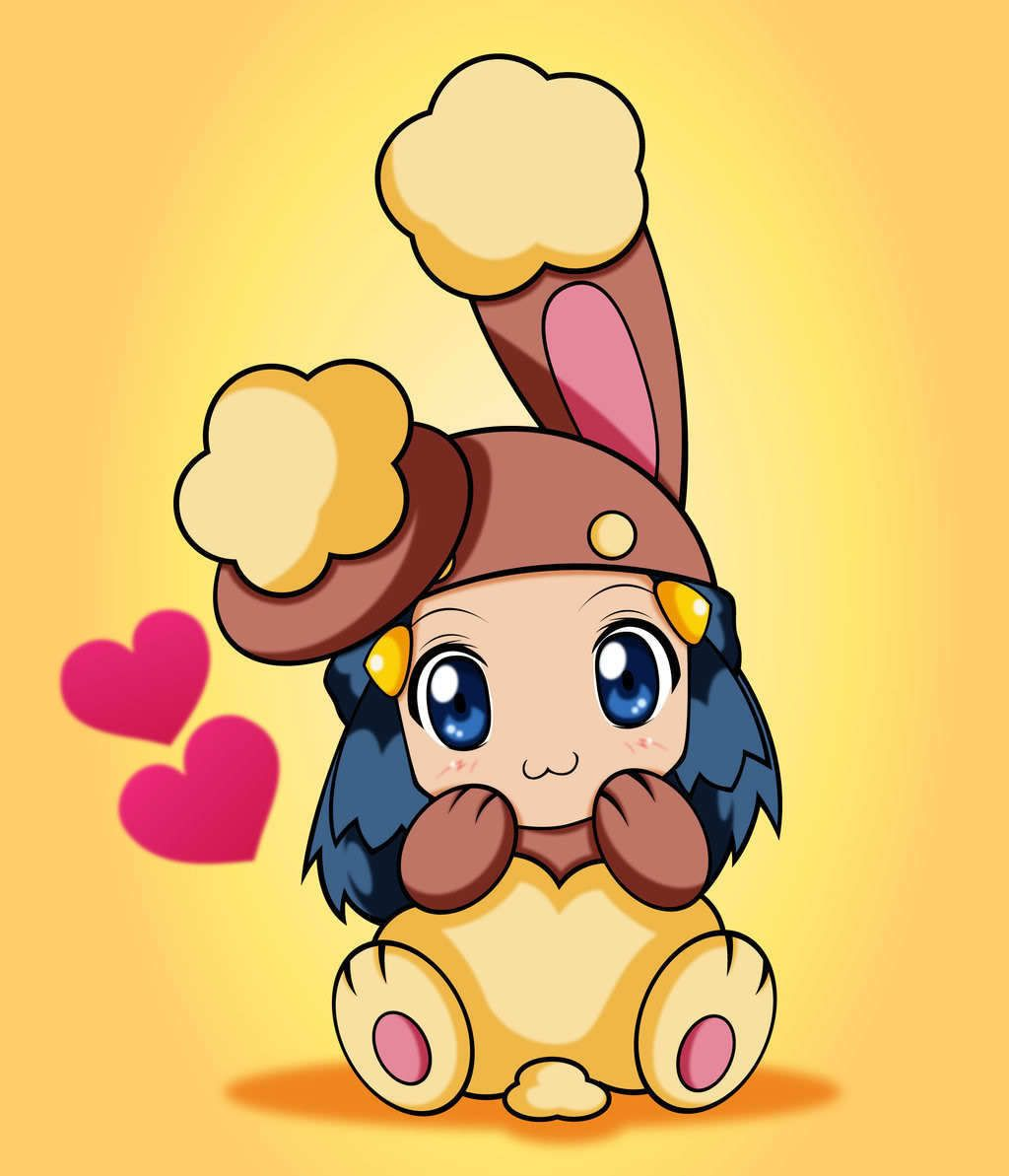 Dawn as Buneary | Pokemon | Pinterest | Dawn, Pokémon and Anime