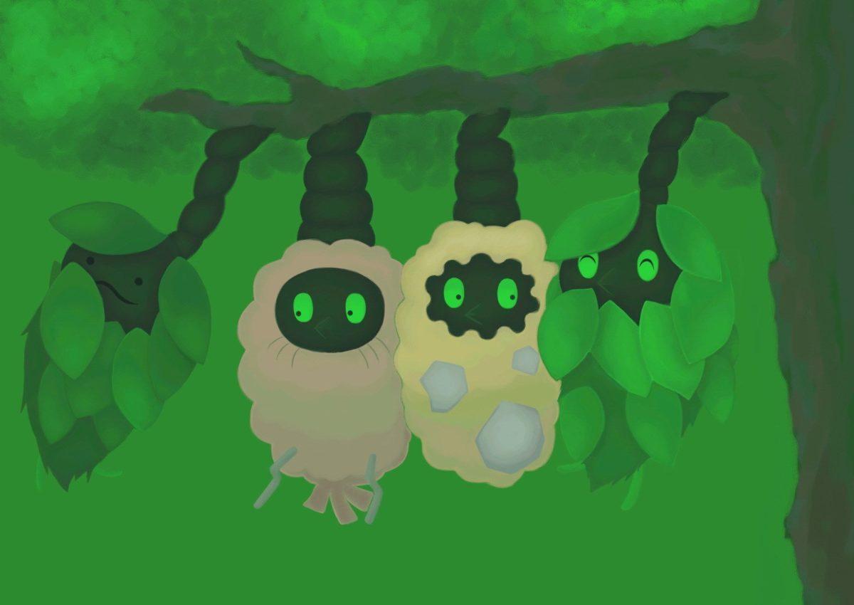 Burmy – Pokémon – Zerochan Anime Image Board